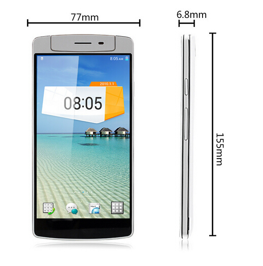 Mobile Phone iNew V8 Plus MTK6592M Android 3G Touch Screen Mobile Phone wholsale