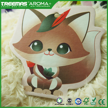 New fall cheap car perfume cartoon cute design air freshener for car OEM