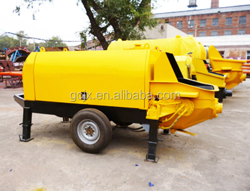 BS40-13-45 Hydraulic piston stationary trailer concrete pump