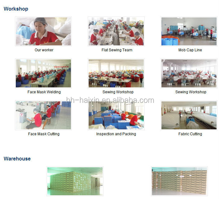 Book Fold Blue SMS Sterile Disposable Surgical Gown