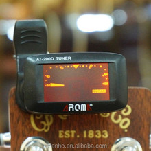 new Chromatic Tuner LCD Clip On Electronic Acoustic Guitar Tuner AT200D