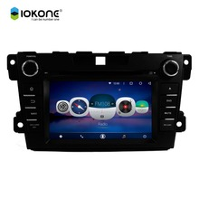 Factory cheaper price 1024*600 HD Wifi GPS Android 6.0 Touch Screen Car DVD Player for Mazda CX7 2010-2012