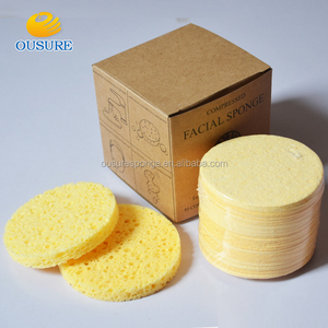 Hot sale!! facial cleaning compressed cellulose sponge