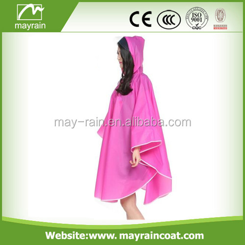 pvc rain cape for promotion