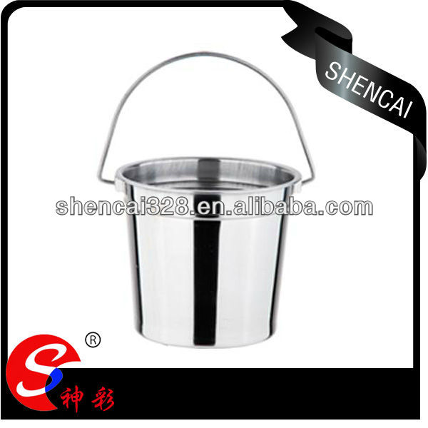 /410 Portable Stainless Steel Ice Bucket Wine Cooler