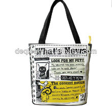 Advertising canvas bag for promotion
