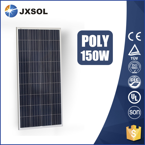 Made in china OEM custom polysilicon 150w cheap solar panels for sale