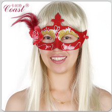 cheap christmas red party mask masquerade masks
