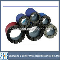 High effecient factory directly supply diamond sintered core drill bits