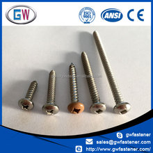 Manufacturing 304 316316 L Stainless Steel tapping screw