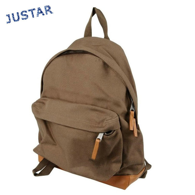 Wholesale Cheap Waxed Cotton Canvas Casual Stylish Vintage Canvas Backpack