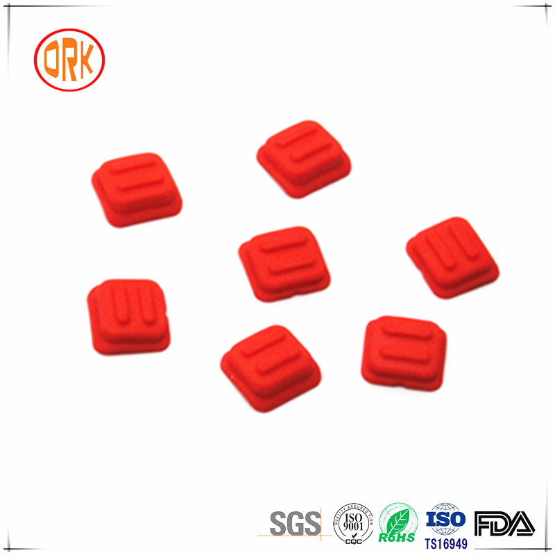 Colored Silicone Rubber Switch Cover For Remote Controller