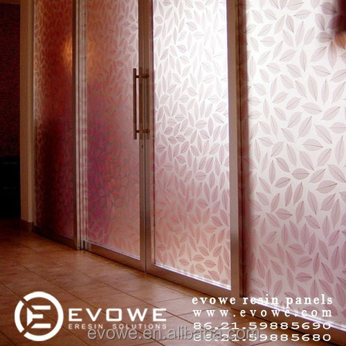 decorative acrylic panel for sliding door