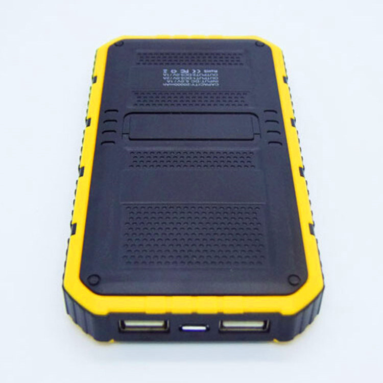 Hot selling smart consumer electronics long time CE FCC 10000mah mobile cell phone solar charger for mobile