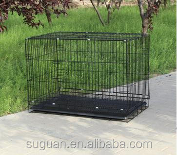 Wire Metal Folding Pet Cage Crate Dog Cage Kennel