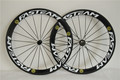 Toray carbon wheels 700c carbon bicycle road wheel 50mm clincher 3k wheelset hot sale