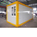 20ft EPS sandwich panel prefab flat pack container house