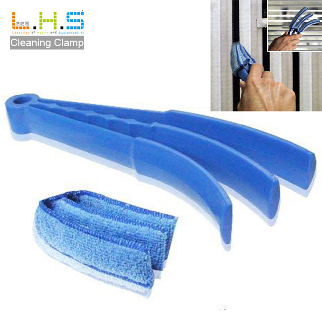 Housekeeping Microfiber pad blind window cleaning brush