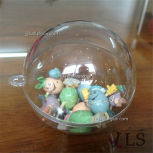 Clear hollow plastic sphere Christmas decoration ball item