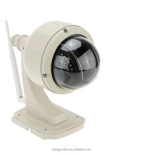 Wireless 22 LED Waterproof Outdoor Mini High Speed Dome PTZ IR IP Camera
