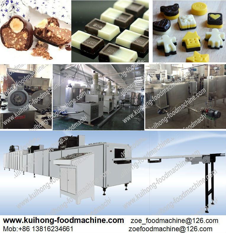 KH-full automatic chocolate production line for factory