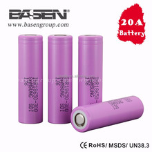 18650 lithium battery 3000mAh Samsung 30Q 15A 18650 lithium cells in stock