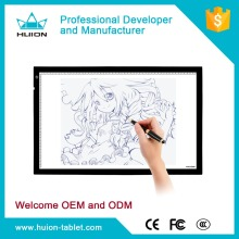 Original HUION A2 Drawing Projector Tablet Track pad Painting Plates Copy Tracing Board LED Light Pad