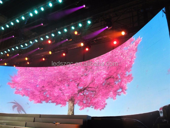 2015 Hot sale 3 in 1 full color p6 led display video