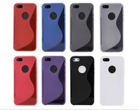 S Line Matte Soft TPU Case For iphone 5 5S/iphone 4 4S