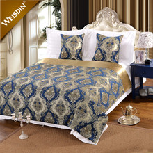 China factory manufacturer queen size quilted hotel bedspreads wholesale
