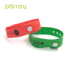 Disposable pvc rfid wristband for patient tracking