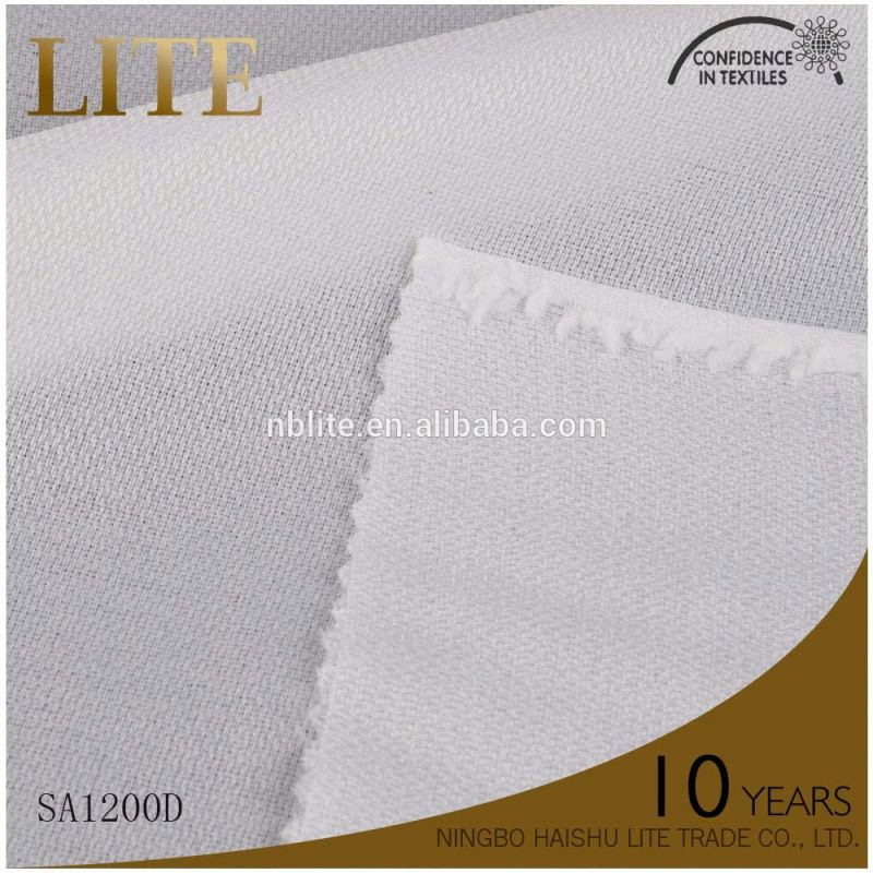 Professional mould design adhesive fabric for clothes tricot interlining for jeans