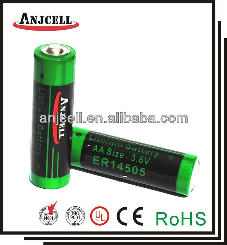 ER6 SAFT LS14500 alternative lithium battery ER14505