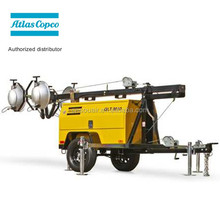 2015 Atlas copco QLT M10 portable lighting tower construction light tower generator