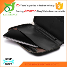 Top quality ladies leather wallet with change purse Rfid Wallet OEM/ODM Factory 25 Years' Experience