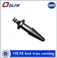 china supplier OEM pen shape machinery spare parts lost wax casting