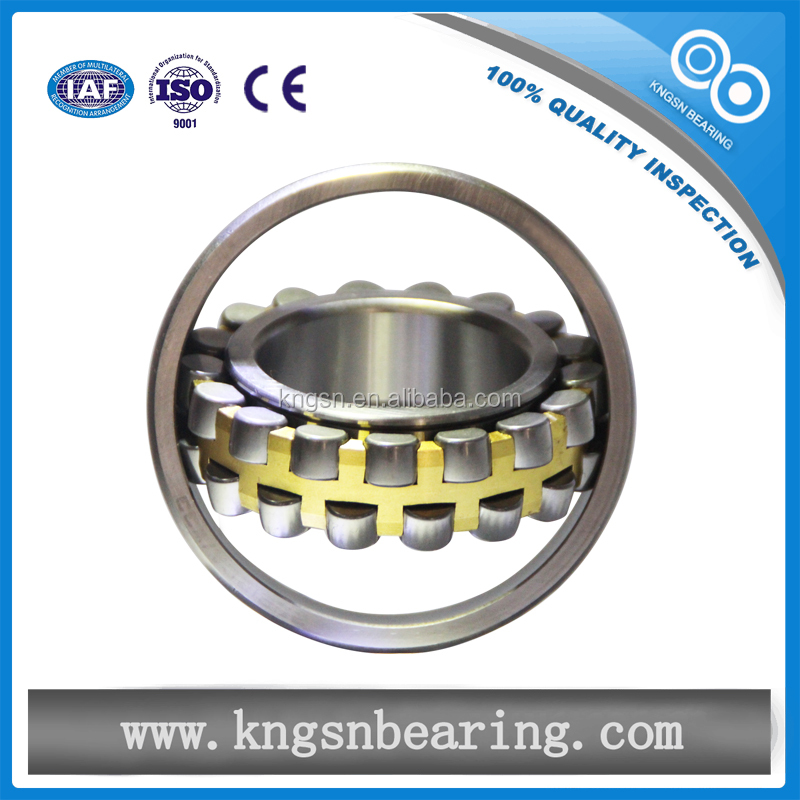 Material: Gcr15 Seals Type: open double row self-aligning 22218 spherical roller bearing