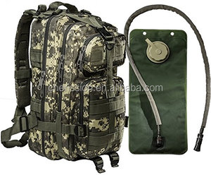 2016 new design professional hydration rucksack Army Style Backpack hydration bladder water bag