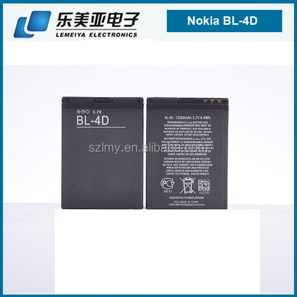 Genuine New Mobile Phone li-ion Battery Used BL 4D For Nokia Mobile Phone E5 E7 E7-00 N8 N97 Mini