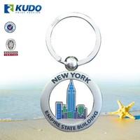 Custom Keychain Manufacturer Metal New York Souvenir Keychain