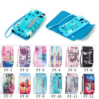Series!!! New Arrival Colorful Printing Wallet Flip Case Cover for Samsung Galaxy S4 Mini, For Samsung Galaxy S4 Mini Case