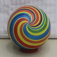 Inflatable PVC Colorful Whirlpool Painted Ball