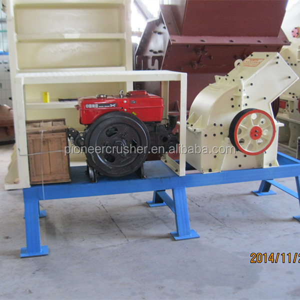 portable diesel hammer mill machine