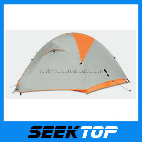 family easy folding rainproof 2 man ultra light hiking tent