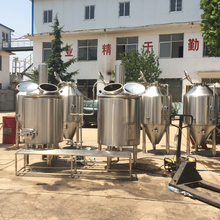 Ruijia Bar/Hotel/home Draught beer brewing equipment,Hop Flavor Malt Beer And Barley Beer Brewing System