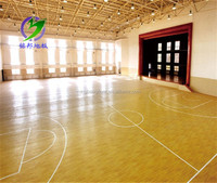 PVC sport plastic outdoor basketball floor mat made in china