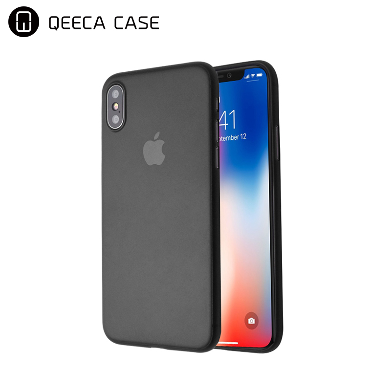 hot sale!!! in stock premium non slip 0.3mm PP ultra thin phone case for <strong>iphone</strong> x case clear black