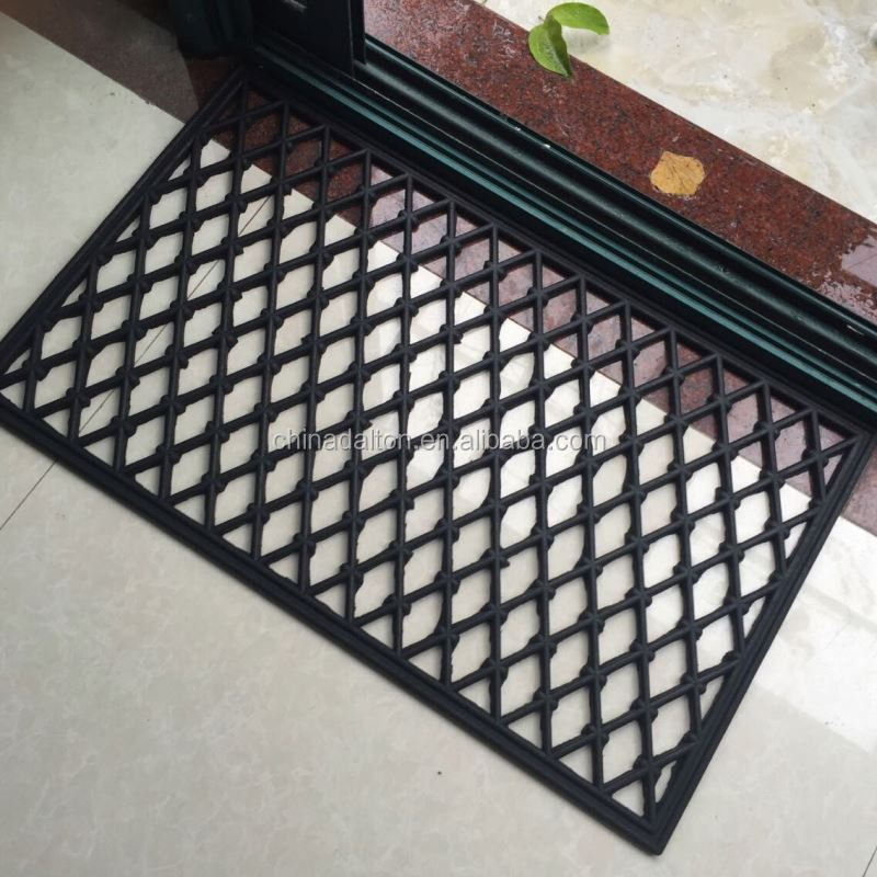 Reclaimed Tyre Rubber Mesh Mat For Front Door Buy Rubber Mesh Mat - Rubber grate flooring