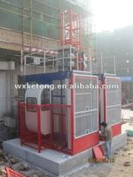 KETONG high quality construction hoist,double cage