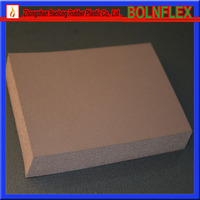 Building Material Rubber Foam Sheet / Thermal Insulation Board
